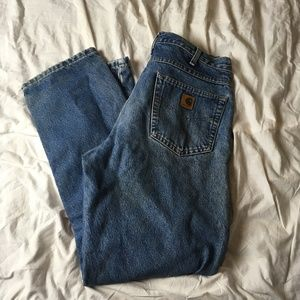 Carhartt B172 DST Relaxed Fit Straight Leg Flannel